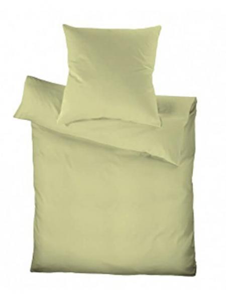 Schlafgut Seersucker Bettwäsche 135x200 Limone Wasserbettbedarfde