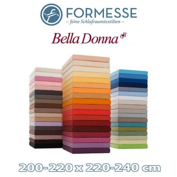 Spannbettlaken Bella Donna Jersey 200 x 220-240 mit Aloe Vera & Seidenproteinen